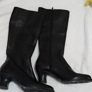 Giani bini leather heel boots 6